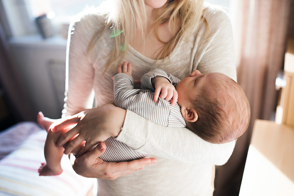mom and baby - What the New Mom to a Baby Born after a Loss Needs Her Friends and Loved Ones to Know