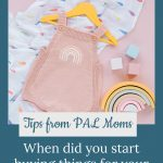 Rainbow baby outfit - Tips from PAL Moms: When did you start buying things for your rainbow baby?