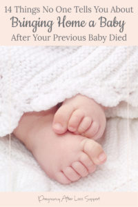baby toes - 14 Things No One Tells You About Bringing Home a Baby After Your Previous Baby Died
