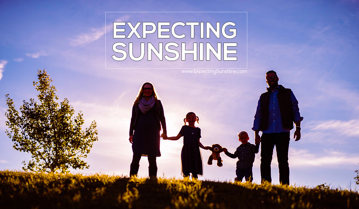 Alexis Marie Chute family Expecting Sunshine memoir documentary film
