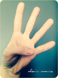 finger counting photo copyright Alexis Marie Chute Wanted Chosen Planned 4