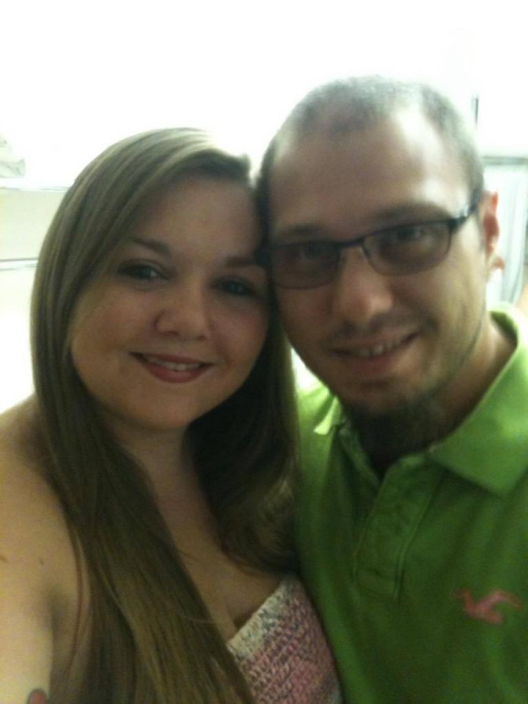 Courtney Mixon and her husband Jon