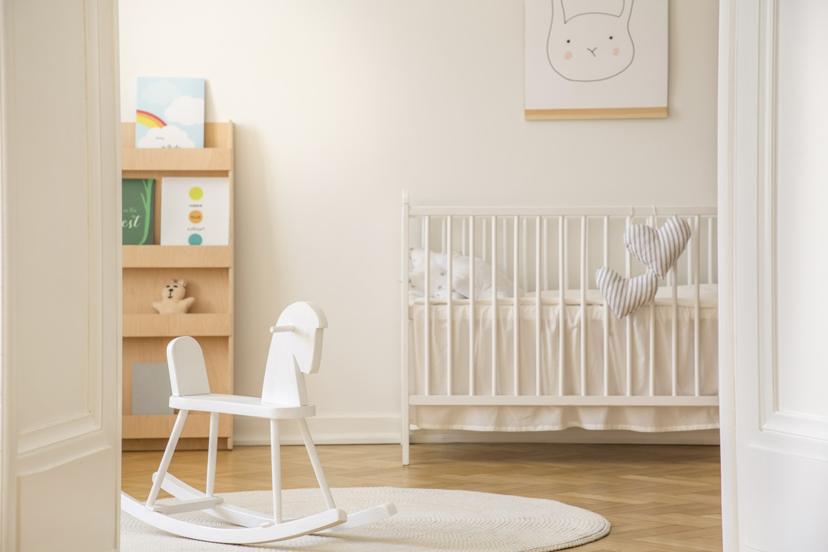 baby's nursery - The Struggle of Decorating the Nursery During Pregnancy After Loss