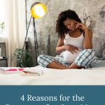 pregnant woman on bed - 4 Reasons for the Pregnant after Loss Mom to Write a Birth Plan
