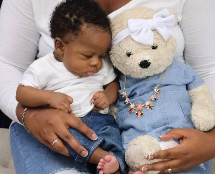 Baby with Molly Bear - I refuse to forget my daughter for your comfort