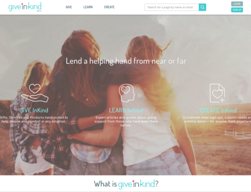 Give InKind: A Crowd-caring Site by Loss Parents, For Loss Parents