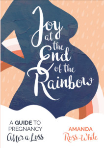 Cover image for book Joy at the End of the Rainbow: A Guide to Pregnancy After a Loss