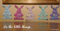 Bunny Family art project