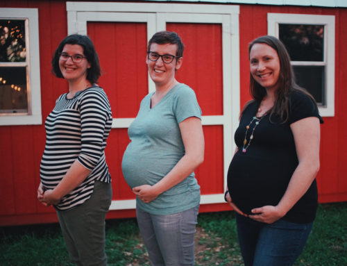 Rebecca's Bump Day Blog, Week 31: Other Pregnant Ladies