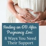 Couple holding pregnant belly - Finding an OB After Pregnancy Loss: 8 Ways You Need Their Support