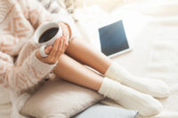 woman with coffee reading tablet - PALS Most-read articles of 2018