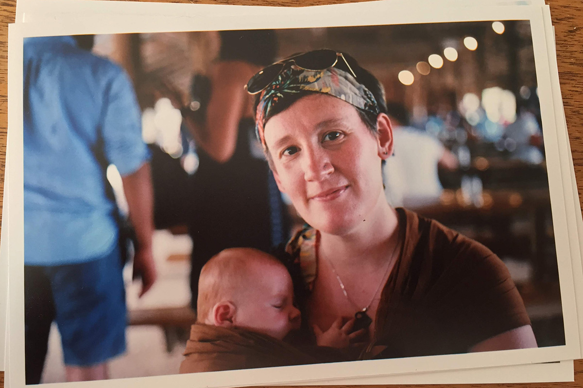 mom holding baby - gifts