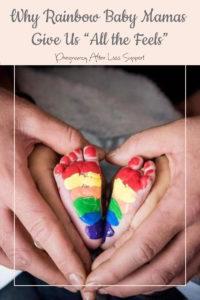 "Rainbow baby feet - Why Rainbow Baby Mamas Give Us ""All the Feels"""