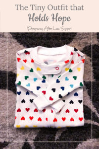 rainbow heart footie pajamas - The Tiny Outfit that Holds Hope