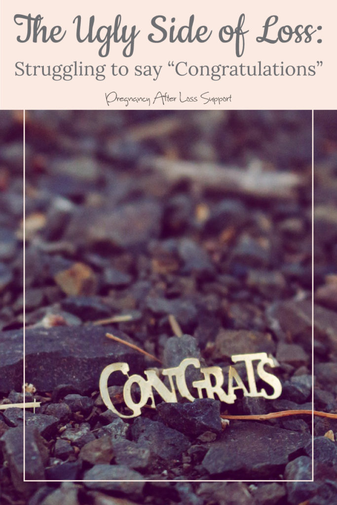 """Congrats"" in rocks - The Ugly Side of Loss: Struggling to Say ""Congratulations"""