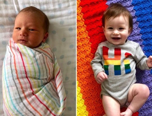 When My Rainbow Baby Turns One Year Old