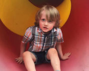 noah on a slide - appreciating differences