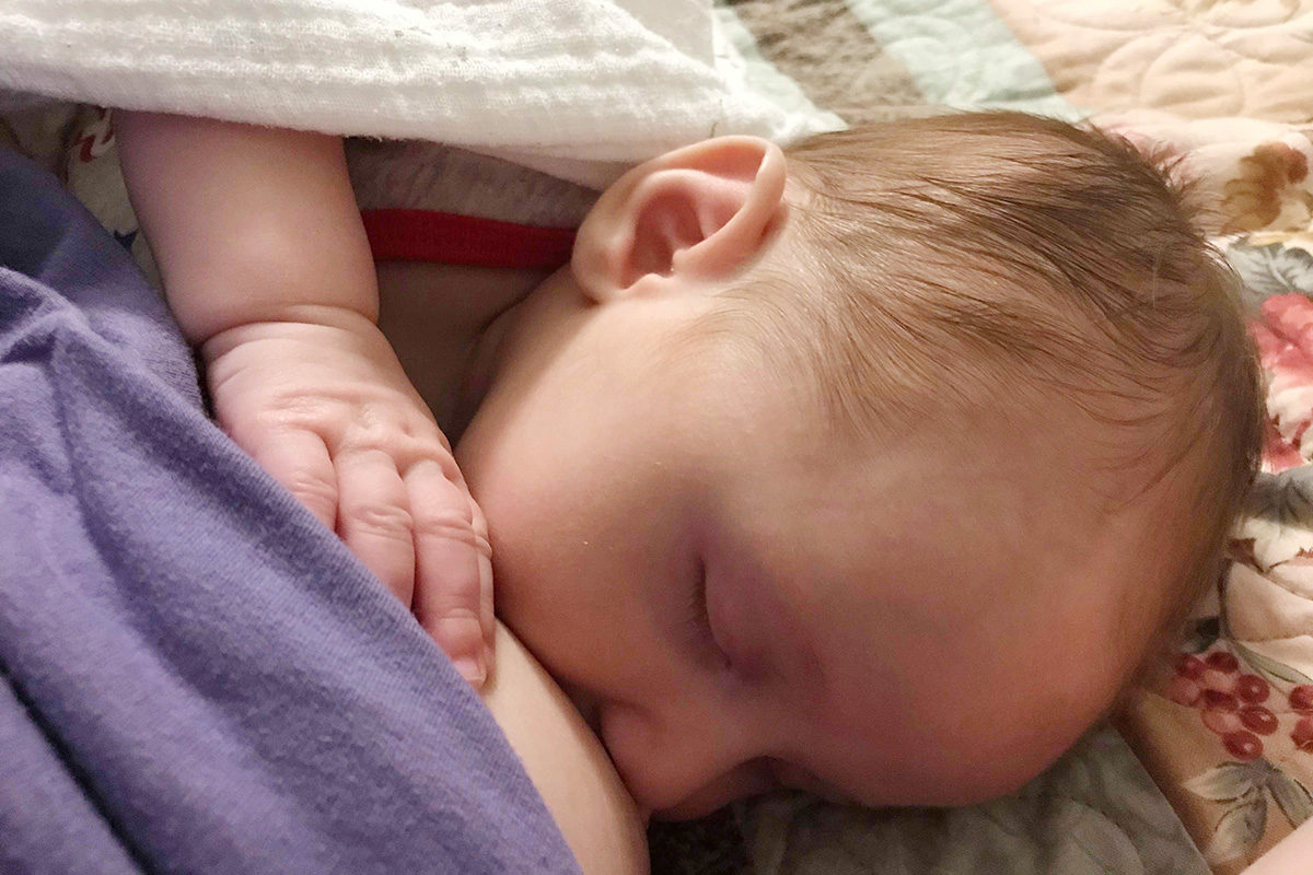 When Breastfeeding As a Loss Mama Doesn't Come Naturally