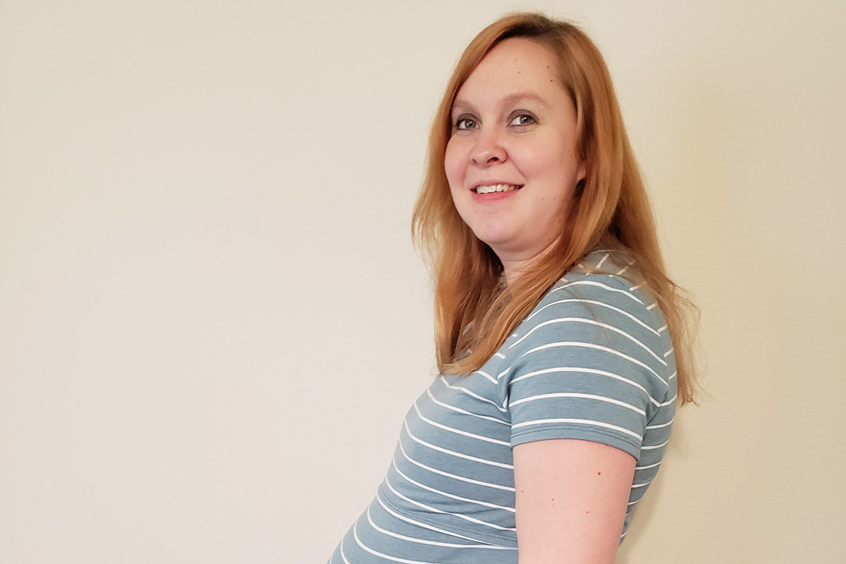 Sarah's 38-week bump - In the Home Stretch