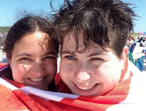 Marjanna's Bump Day Blog, Week 18: Standing Against an Ocean of Fear