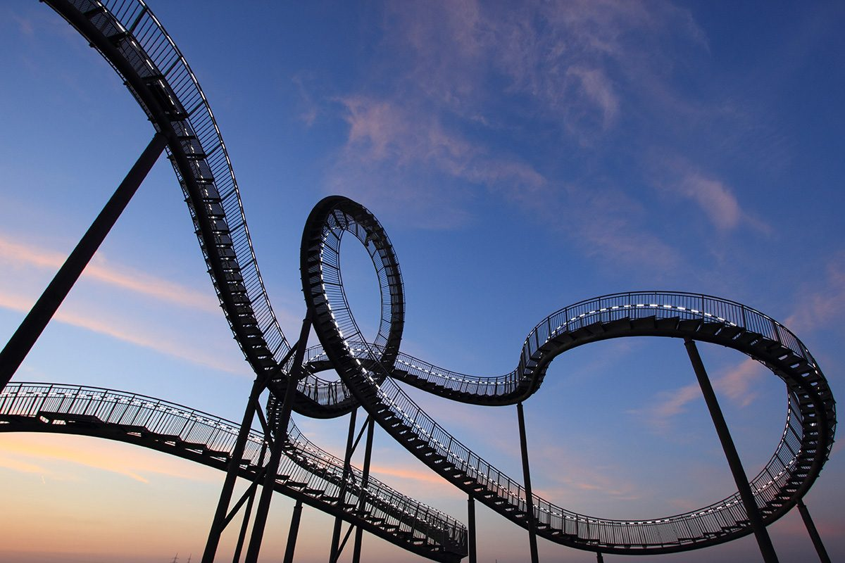 rollercoaster - Marjanna's Bump Day Blog, Week 22: A (Severely Warped) Coney Island of the Mind