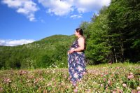 Marjanna's 23-week bump: words have power