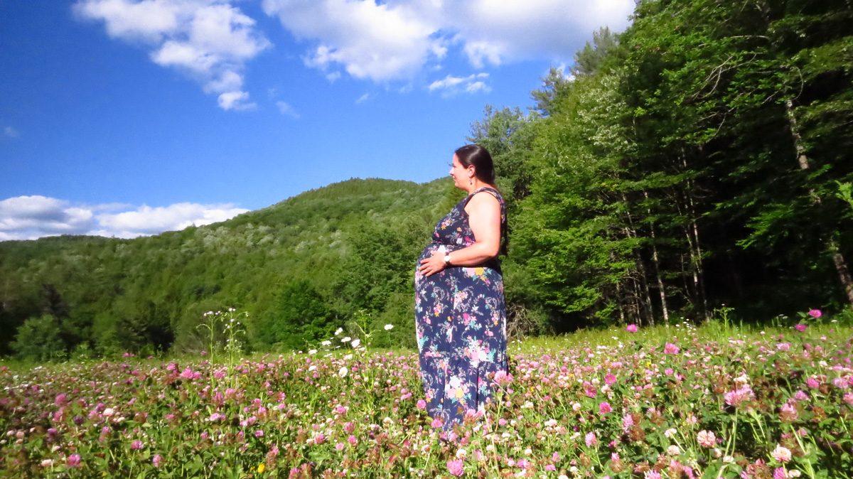 Marjanna's 23-week bump: words have power