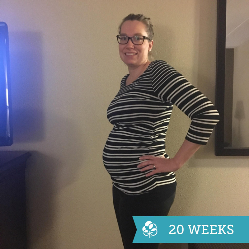 20-Week Bump - A Letter to the Baby that Made Me a Mama