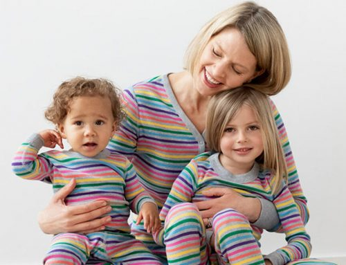 'Tis the Season for Matching Family Pajamas: Yes, even Rainbow Family Pajamas!
