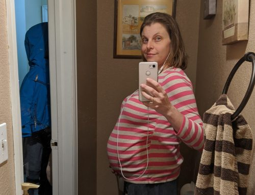 Rachel's Bump Day Blog, Week 28: 3rd Trimester Jitters