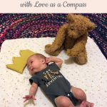 baby with teddy bear - To the Pregnant after Loss Mama, with Love as a Compass