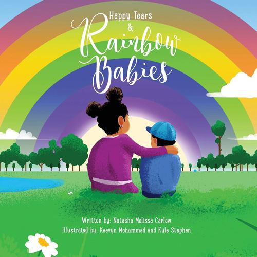 Happy Tears & Rainbow Babies book cover