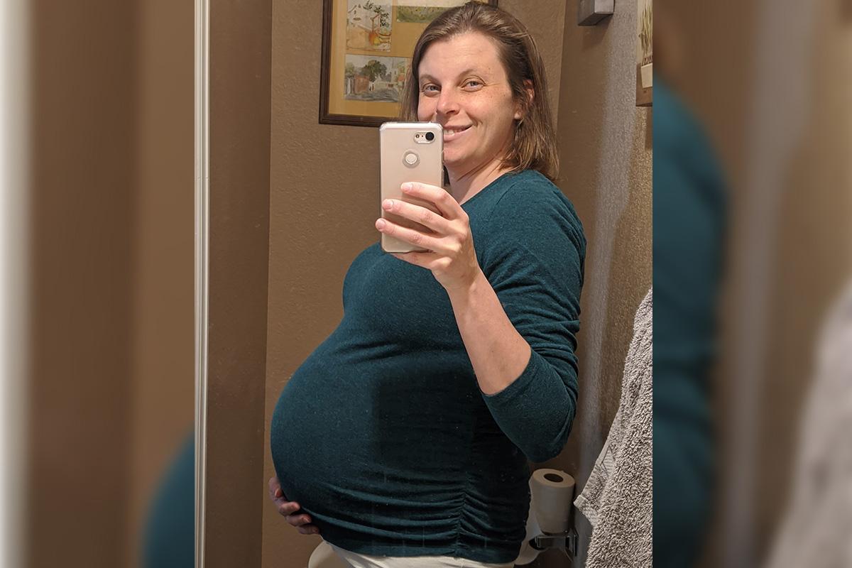 Rachel's 36-week bump - A little more information