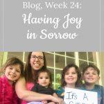 """It's a Girl"" announcement - Lori's 15-week bump day - Having Joy in Sorrow"