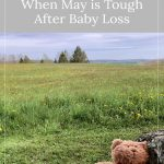 Bear in a field - Beautiful Days: When May is Tough After Baby Loss