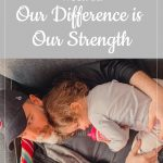 Dad and daughter - Our difference is our strength