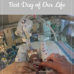 gestational carrier after loss, week 35: Best Day of Our Lives
