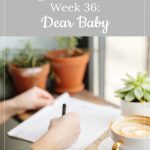 gestational carrier after loss, week 36: dear baby
