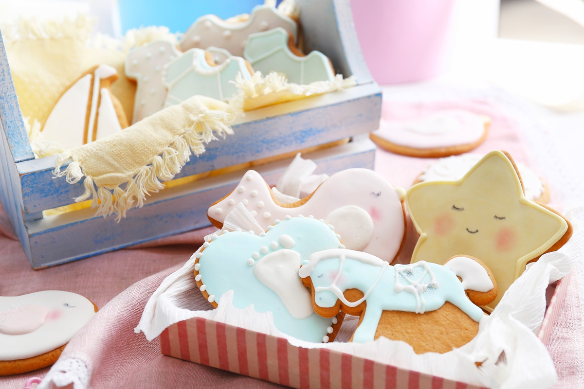 Cookies - Baby Shower Alternatives for Mamas Pregnant After Loss During a Pandemic