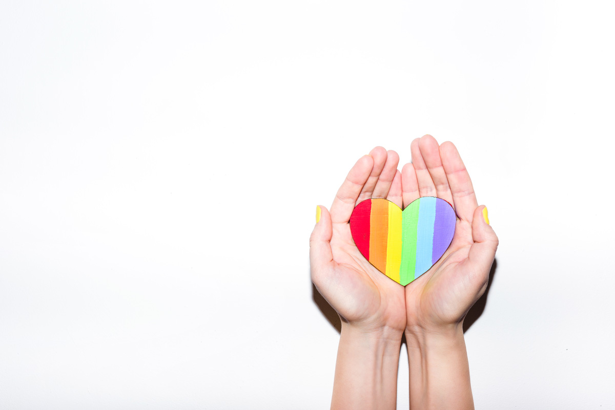 rainbow heart - Resources for LGBTQ+ families experiencing loss and pregnancy after loss