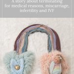 rainbow newborn photo - A Blue Bird in the Rough: A story about terminating for medical reasons, miscarriage, infertility and IVF