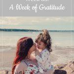 Franky's 33-week bump: A Week of Gratitude