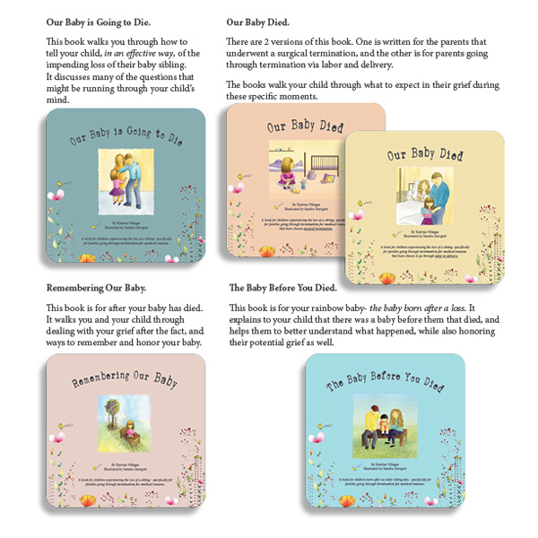 children's book series about termination for medical reasons