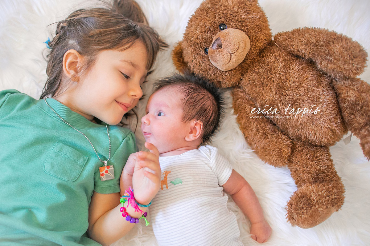 siblings - a letter to my rainbow baby: I can't imagine life without you