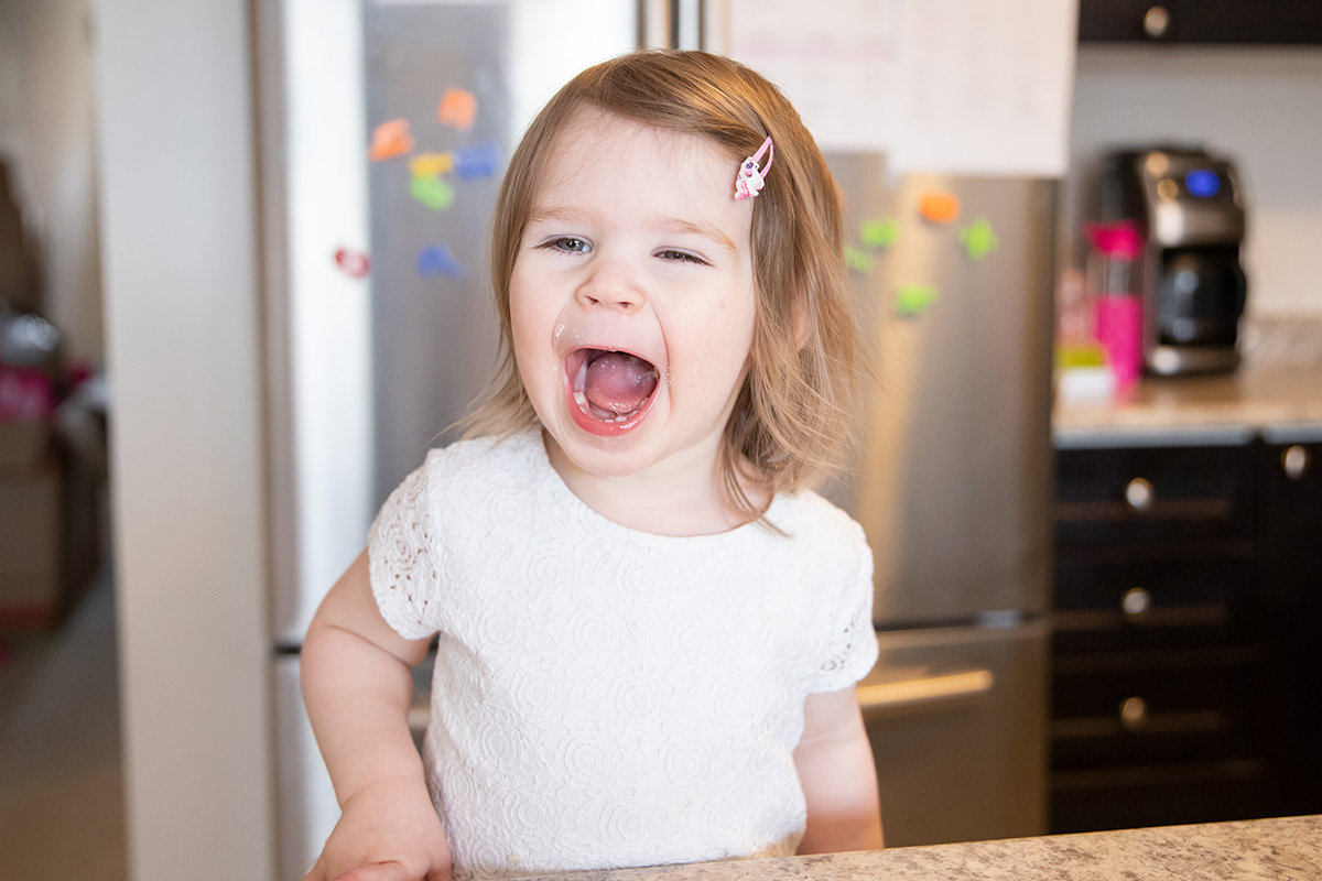 """little girl smiling - Mary's Bump Day blog, Week 12: """"Maybe it Wasn't Meant to Be!"""""""