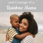 mom and son on beach - The Strength and Courage of a Rainbow Mama