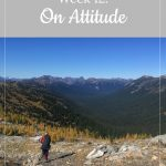 person in the mountains - Libby's Bump Blog Week 12: On Attitude