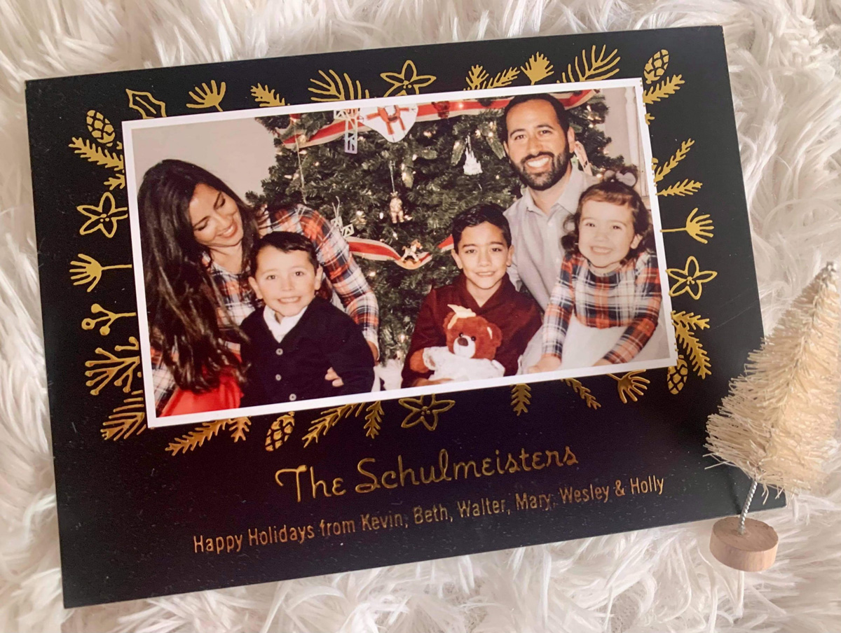 Holiday cards after loss