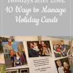 Holiday cards after loss - remembering Oberon