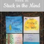 Watercolor affirmations - Libby's 16-week bump update: Stuck in the Mind
